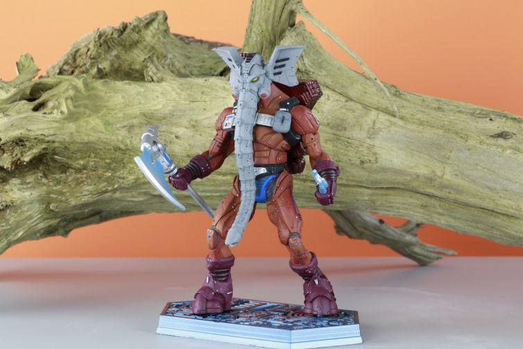 He-Man Snout Spout Statue Photography