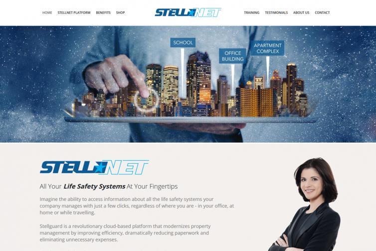 Stellnet Website